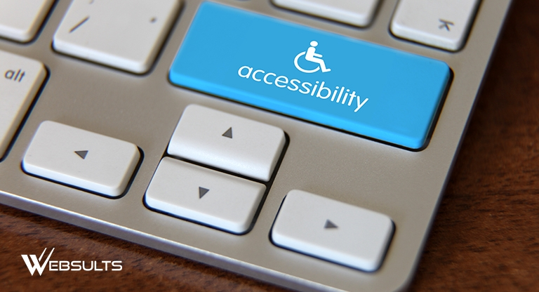 accessibility button on a keyboard