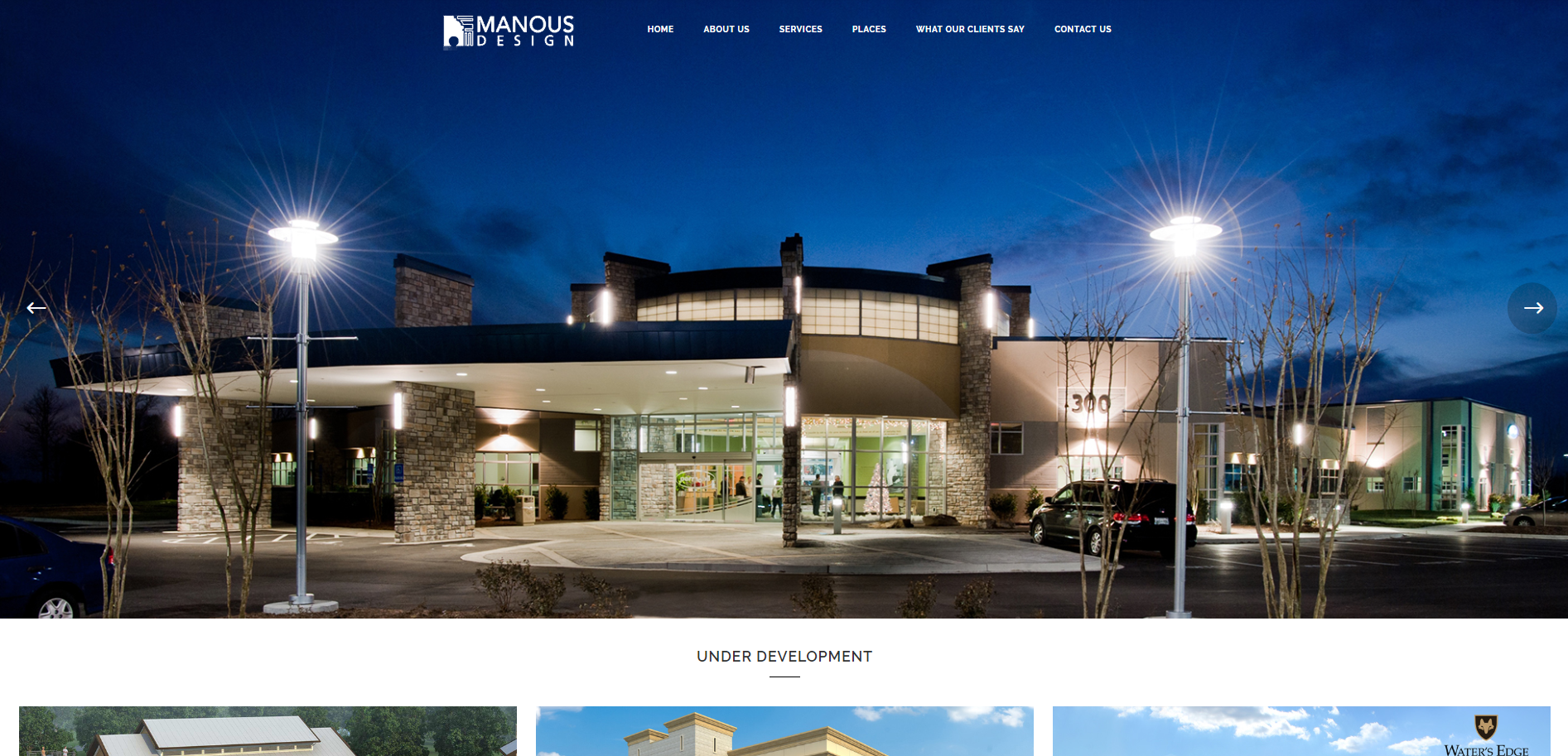 Manous Design Architecture Firm Home Page